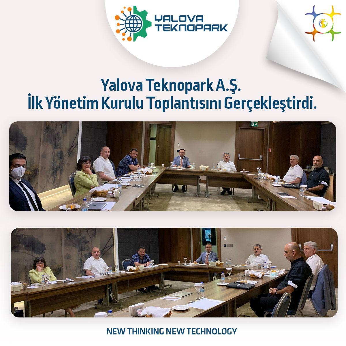 Yalova Teknopark İlk Yönetim Kurulu Toplantısı
