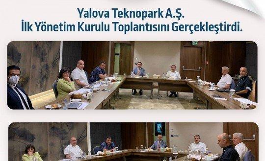 Yalova Teknopark İlk Yönetim Kurulu Toplantısını Gerçekleştirdi
